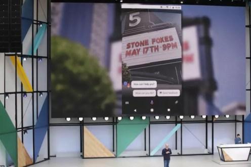 Google Lens theater