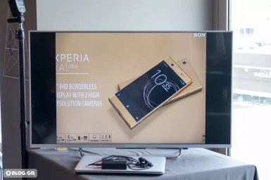 Sony XPERIA XA1 Ultra Greek launch event