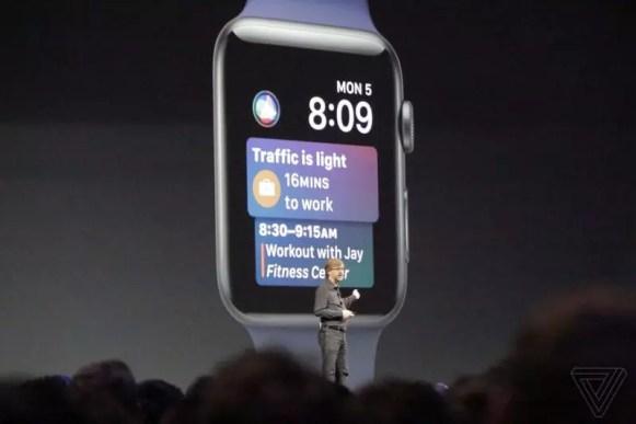 Apple Watch watchOS 4 Siri watchface