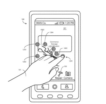 Motorola patented a display that can heal its own cracked screen with heat 2