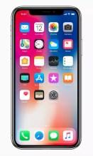 Apple iPhone X homescreen