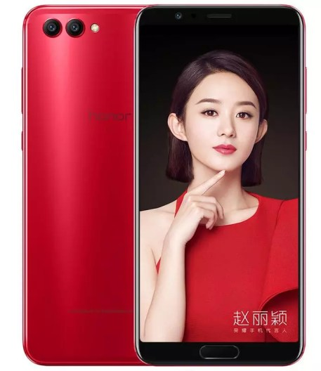 Huawei Honor V10 red
