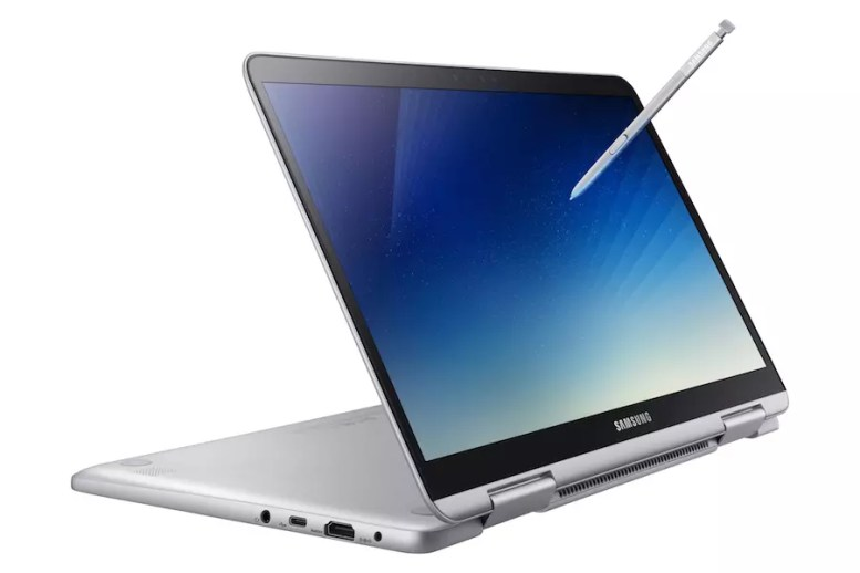 Samsung Notebook 9 Pen (2018) side