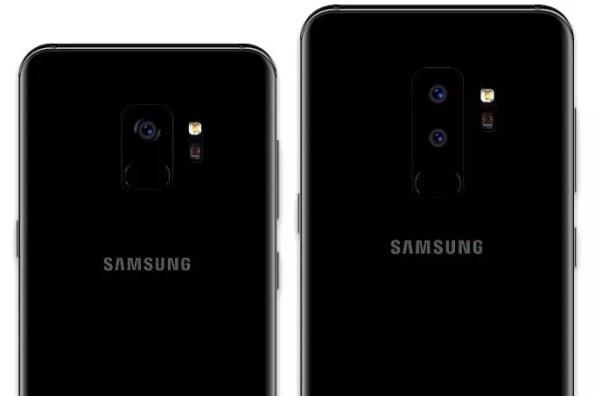 Samsung Galaxy S9 Galaxy S9 Plus cameras render