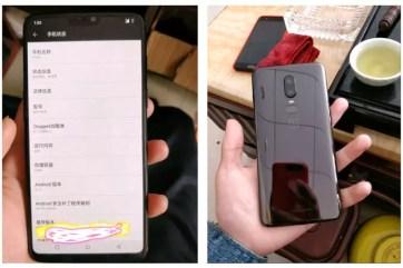 OnePlus 6 leak