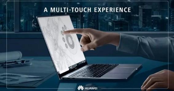 Huawei MateBook X Pro multi touch