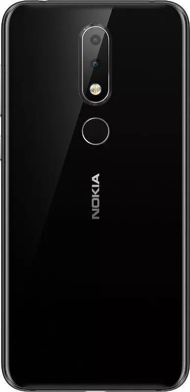 Nokia X6 back