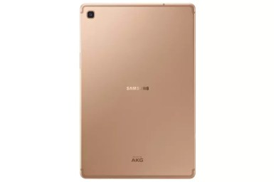 Samsung Galaxy Tab S5e sm t725 002 back gold1 0
