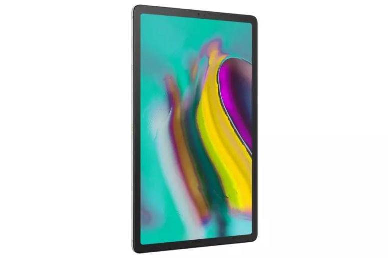 Samsung Galaxy Tab S5e sm t725 005 l perspective silver1 0