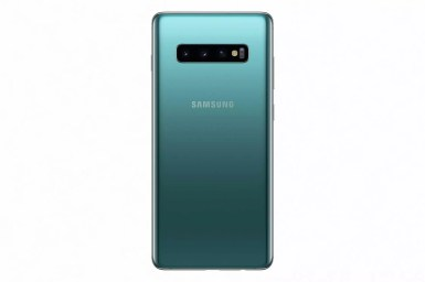 Samsung galaxy s10 prism green back1 2