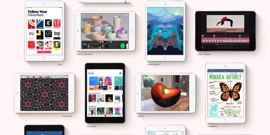Apple iPad Mini 5 2019 hero