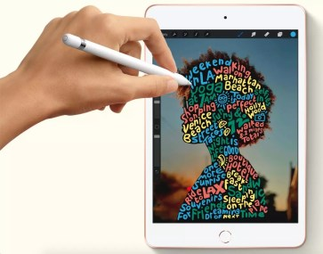Apple iPad Mini 5 2019 wiith Apple Pencil