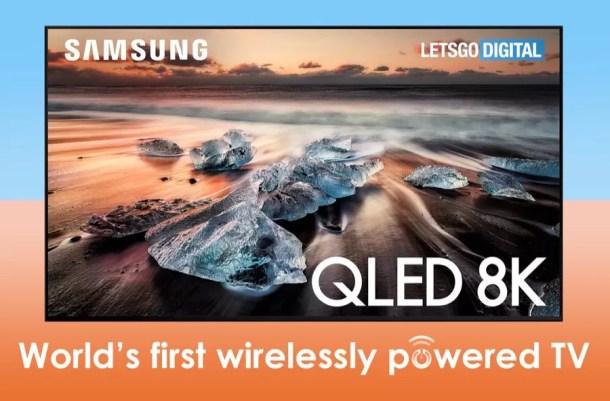 Samsung wirelessly powered TV leak