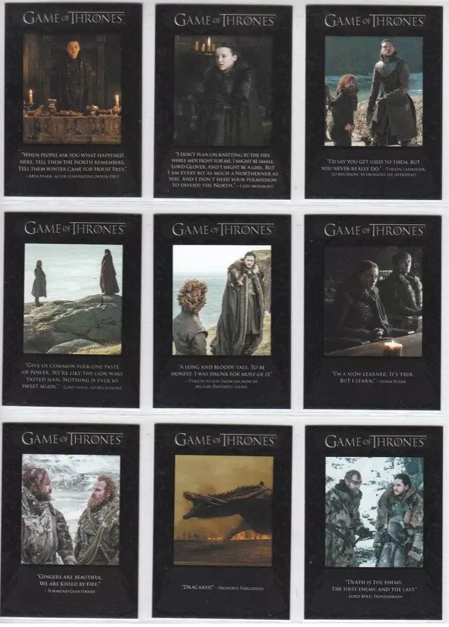 Game of Thrones memorabilia 1