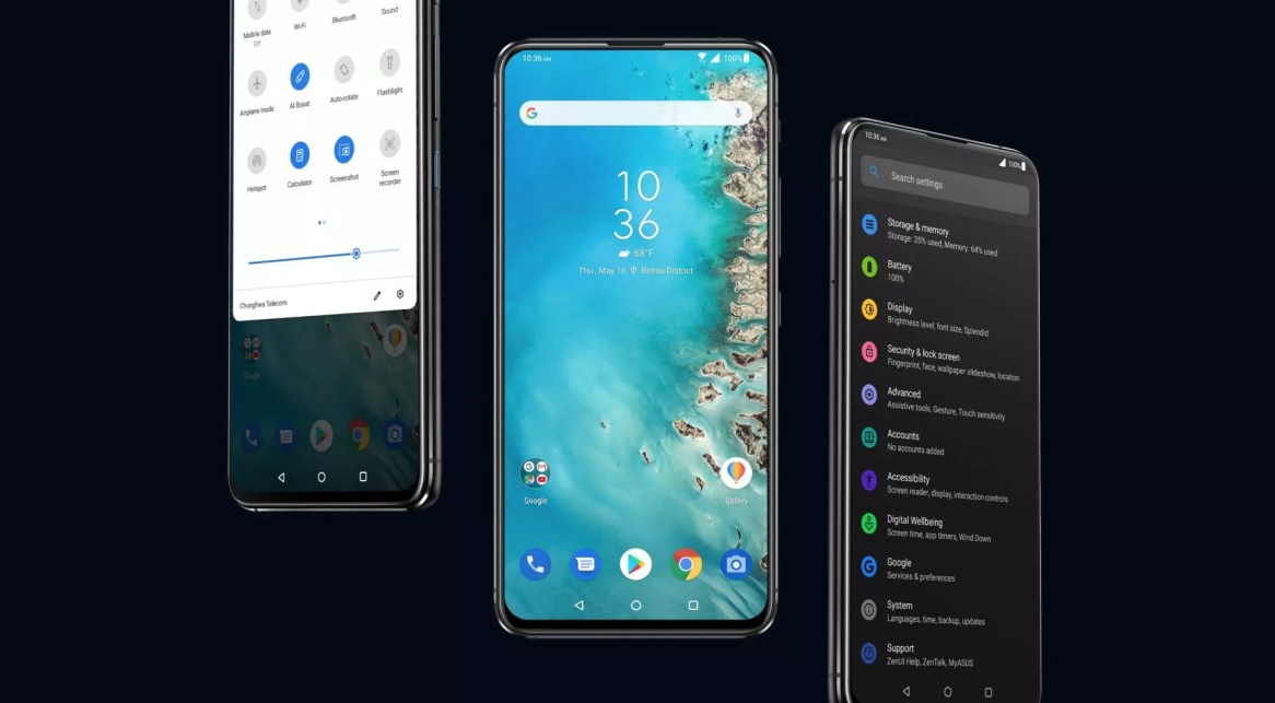 Android Pie - ZenUI 6 on Asus ZenFone 6