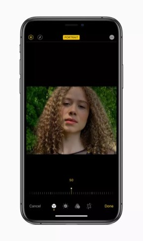 Apple ios 13 portrait screen iphone xs 06032019