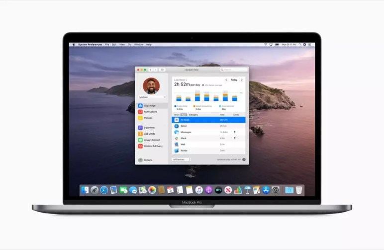 Apple previews macOS Catalina Screen Time screen 06032019
