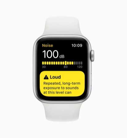 apple watchos6 noise app 060319