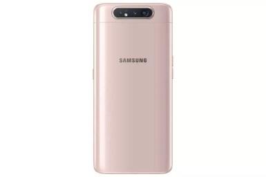 Samsung galaxy a80 angel gold back