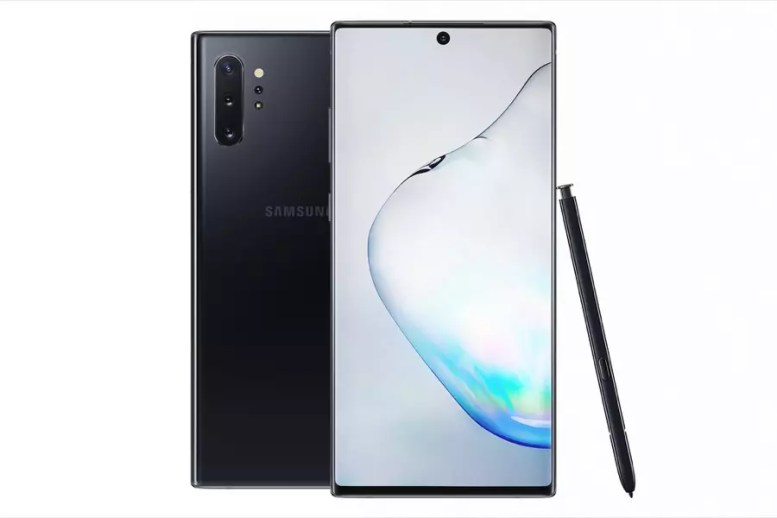 Samsung Galaxy Note10+ Aura black