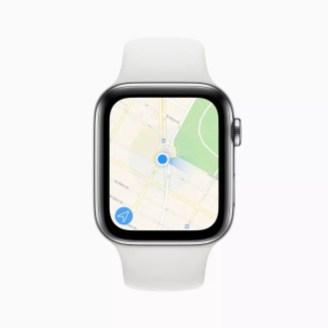 Apple watch series 5 maps app screen 091019