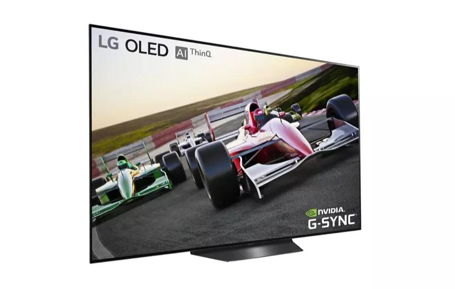 NVIDIA G SYNC on LG OLED TV B9