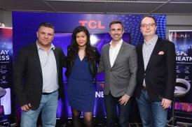 TCL Plex Greek launch