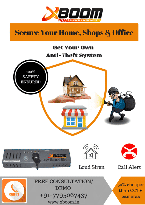Who watches your Home & Shops When You Are Not Around ?? #Houseburglary #Anti-theft