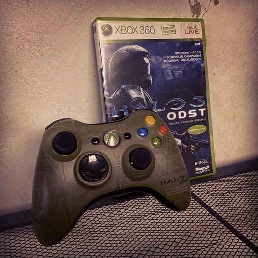 Halo 3 ODST sur Xbox 360. Un épisode à part dans la série Halo. #Halo #Halo3 #Halo3ODST #ODST #Xbox #Xbox360 #Bungie #Mi…