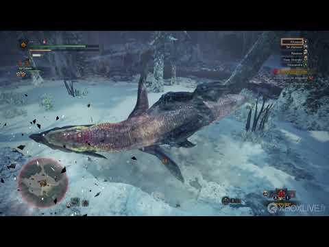Monster Hunter World – DLC ICEBORNE – Combat contre Beotodus – Xbox One