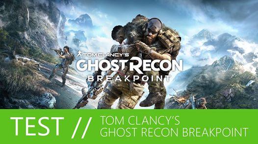 Notre 1er test vidéo est en ligne ! Et c'est sur #GhostReconBreakpoint sur #XboxOneX que nous faisons nos débuts ! http…