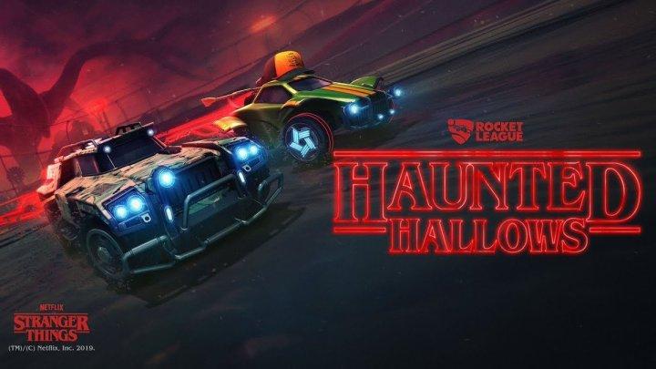 #StrangerThings s'invite dans #RocketLeague avec #HauntedHallows pour Haloween https://t.co/3A1jR9KGsm pic.twitter.com/mVtIRneni9
