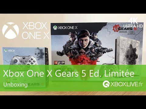 Unboxing Xbox One X Gears 5 Edition Limitée
