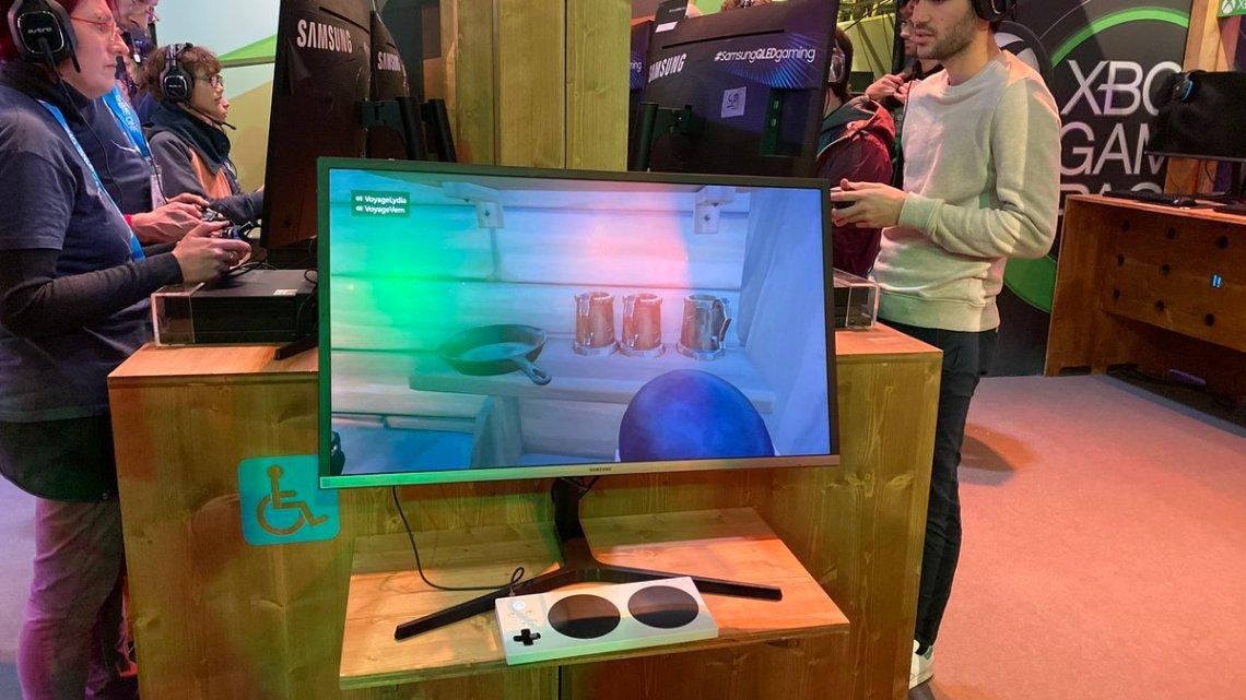 Sur le stand @XboxFR à la #PGW2019, c'est ça l'accessibilité. C'est très classe. #XboxPGW pic.twitter.com/5ySyIPWI5X