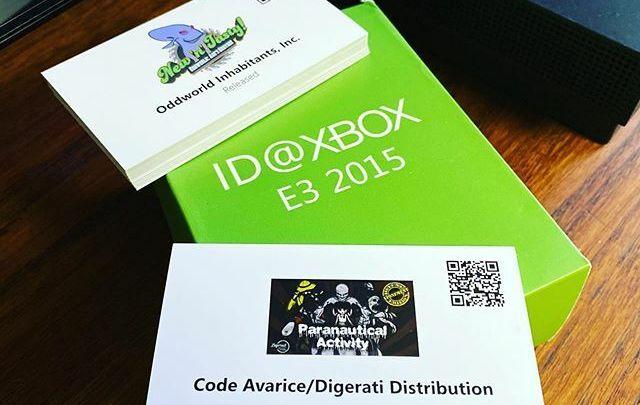 Une sympathique petite boîte en carton contenant tous les jeux ID@Xbox en préparation à l'époque de l'#E32015 #xbox #xboxone #xboxonex #id@xbox #idatxbox #id #idgames #independant #games #jeux #jeuxindé #E3 #losangeles #conventioncenter #microsoft #colle… https://t.co/oO1q5v12AH pic.twitter.com/6feDuF875S