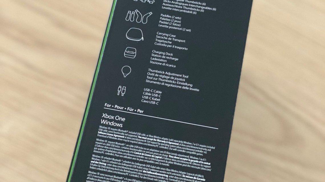 Voilà ce que contient la boîte de la manette #Xbox #Elite2 pic.twitter.com/VMheP536hO