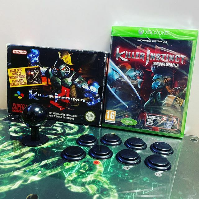 21 ans entre ces 2 boites – 21 years between these 2 boxes#killerinstinct #snes #snin #xboxone #rare #rareware #gamer #player #xbox #xboxone #supernintendo #superfamicom #arcade #fighting #combat #snin #game #jeu #jeuvideo #videogames #collector #collec… https://t.co/rb4xaVQdfk pic.twitter.com/Qccn8FhTRc