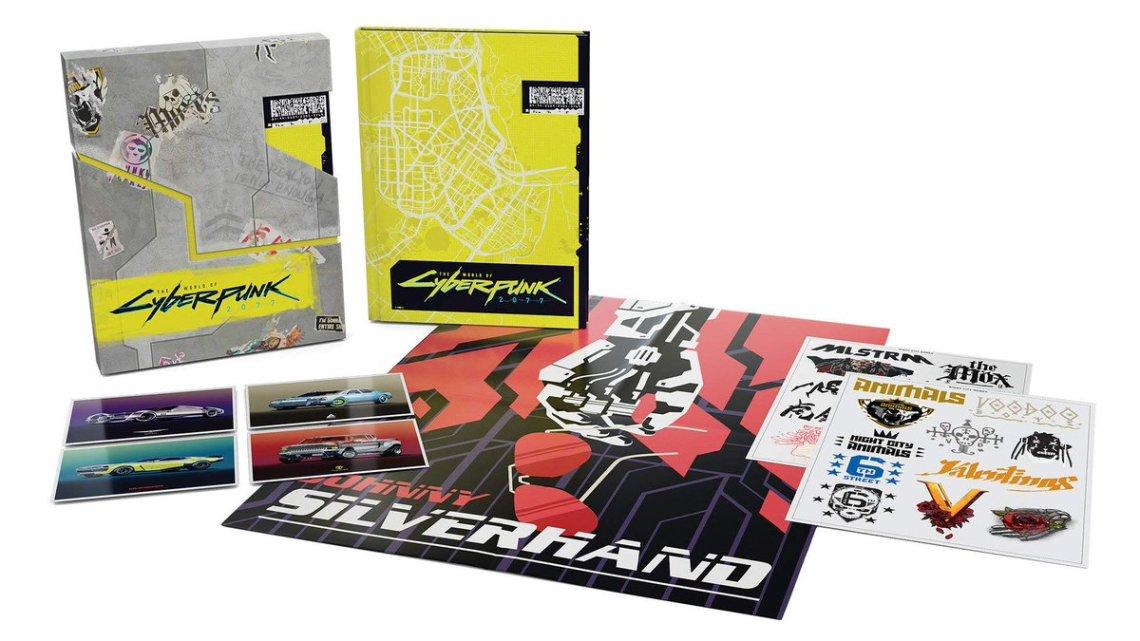 La carte de #Cyberpunk2077 se dévoile grâce à son artbook ? C'est cadeau :) Rendez-vous le 16/04/2020 pour essayer le jeu. pic.twitter.com/tztZm23Bfw