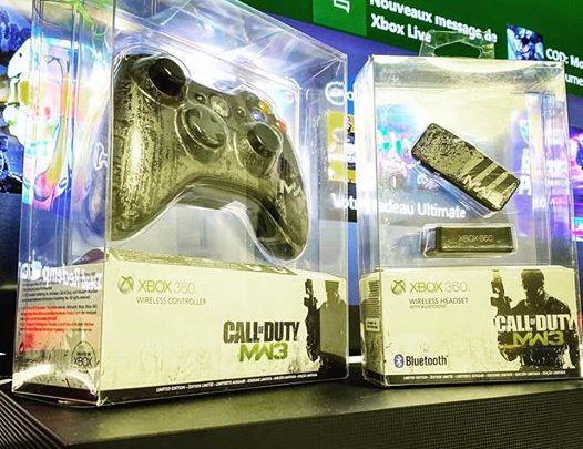 Modern Warfare 3 Controller et Heaset pour Xbox 360 #Xbox #Xbox360 #modernwarfare #modernwarfare3 #activision #callofdut…
