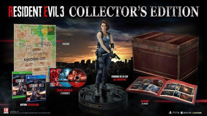 Ho mais qui se dévoile ? Ne serait-ce pas le collector du remake de #ResidentEvil3 ! Une carte de Raccoon City, la BO en 2 CD, un artbook et la figurine de Jill Valentine ! Ouverture prochaine des précos ! Vivement le 3 avril…#Xbox @capcom_france pic.twitter.com/VwJ2Nb9sD0