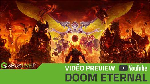 Notre vidéo de preview de Doom Eternal est en ligne ! SnakeX et Lestat vous disent et vous montrent tout … du jeu bien…