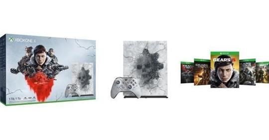 #soldes #bonplan la #XboxOneX #Gears5 Edition Limitée à 294,99€ avec le code MOINS25E http://tidd.ly/1cf8ca7f