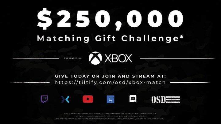 Xbox fera un don jusqu'à 250 000$ à l'organisme de bienfaisance des anciens combattants pic.twitter.com/HVcsnrktxs