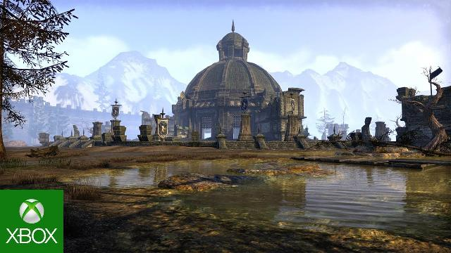 The Elder Scrolls Online Xbox One X 4K Enhancements