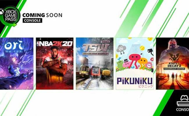 Xbox Game Pass List Of New Games Coming To Xbox Game Pass