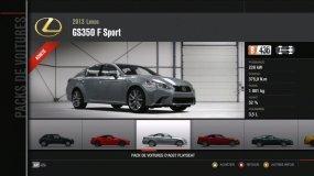 Lexus GS350 F Sport Forza Motorsport 4 Playseat DLC
