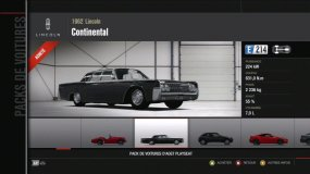 Lincoln Continental Forza Motorsport 4 Playseat DLC
