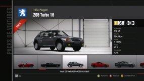Peugeot 205 Turbo 16 Forza Motorsport 4 Playseat DLC