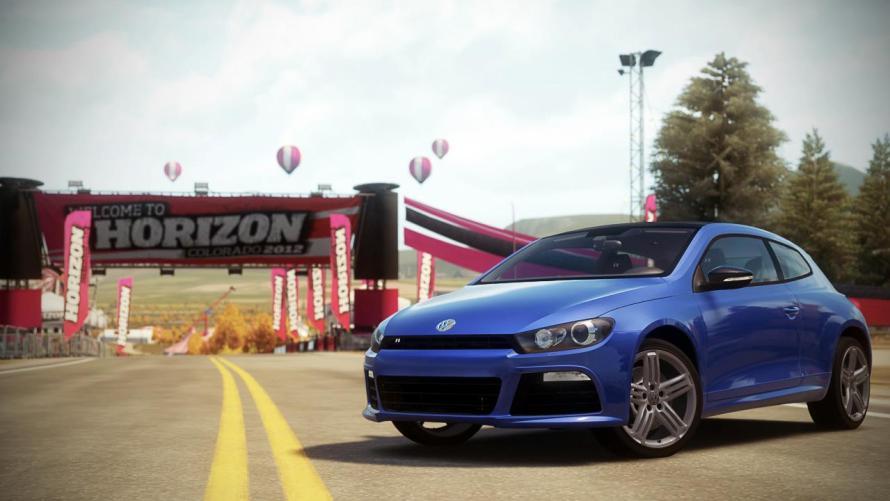 Volkswagen Scirocco R Forza Horizon