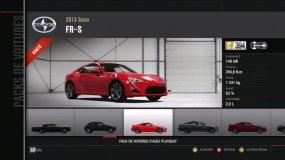 Scion FRS Forza Motorsport 4 Playseat DLC